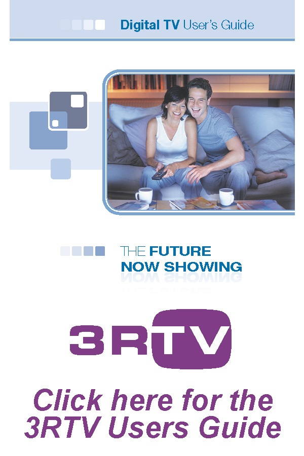 3rtv digital television 3 rivers communications rh 3rivers net User Manual User Guide Cover